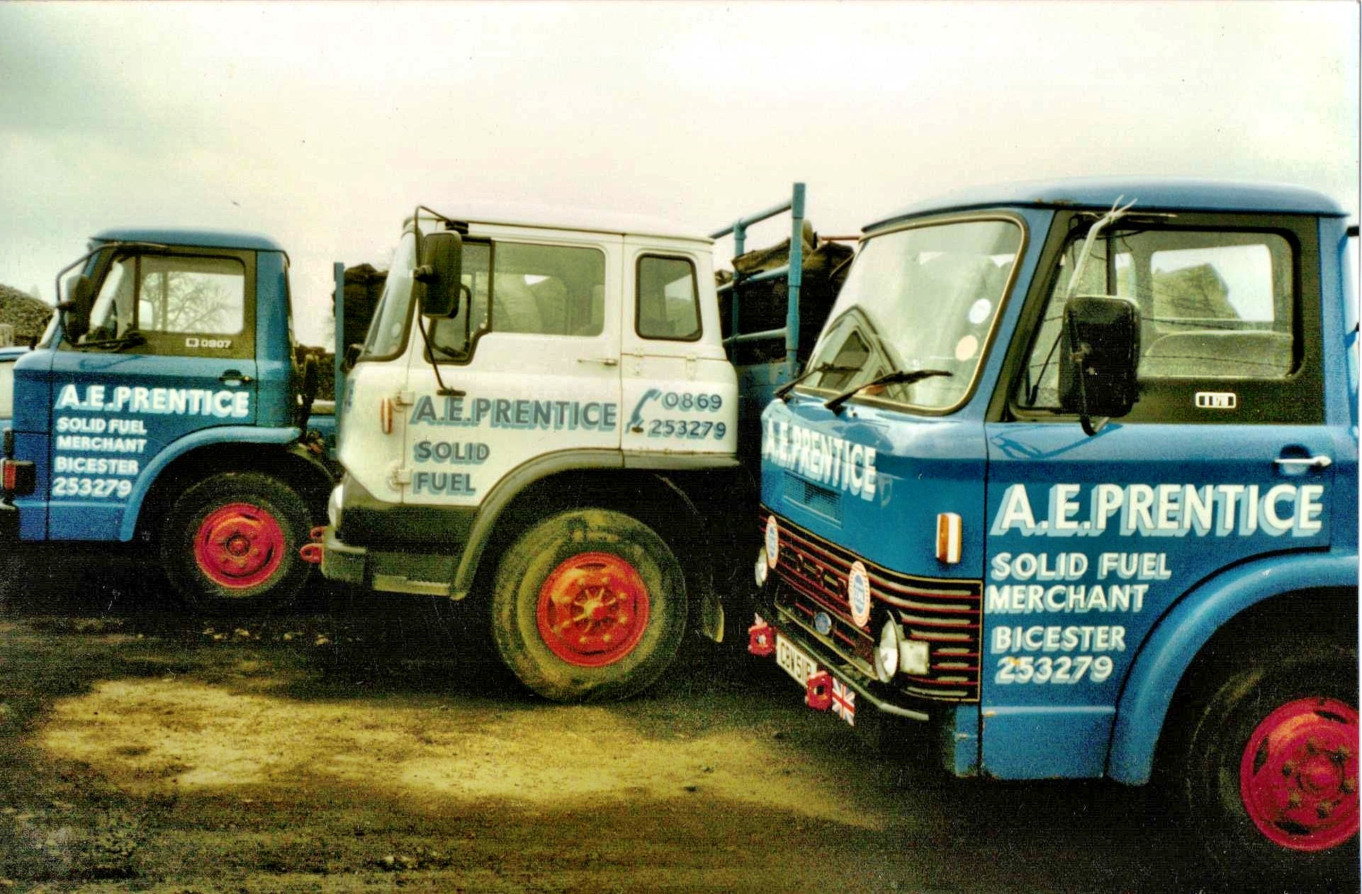 Delivery lorries from the 1980's