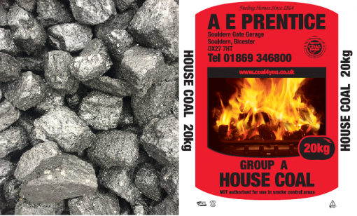 Medium Size British House Coal