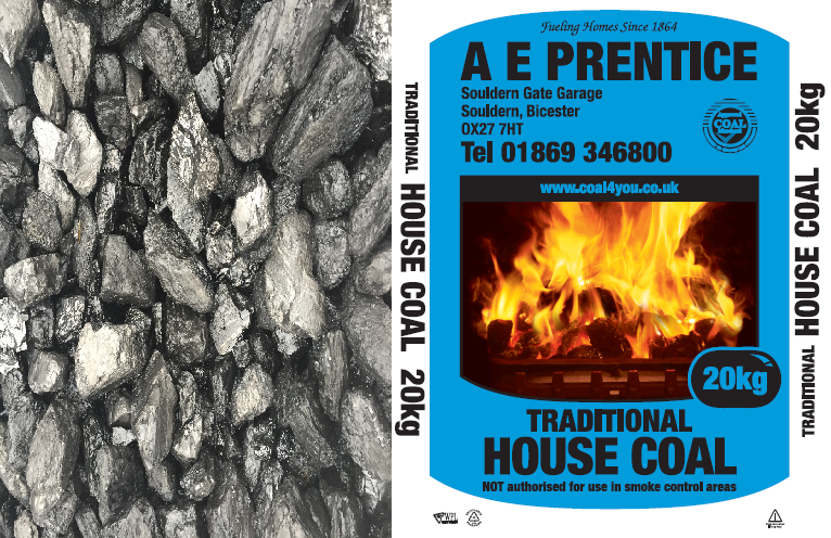 Small Size British House Coal